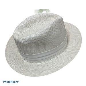 Vintage Carlton Club 50's 60's Woven Fedora Hat